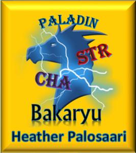 Bakaryu - Blue Dragonborn